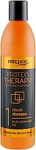 Düfte, Parfümerie und Kosmetik Regenerierendes Shampoo für trockenes und strapaziertes Haar mit Keratin - Prosalon Protein Therapy + Keratin Complex Rebuild Shampoo