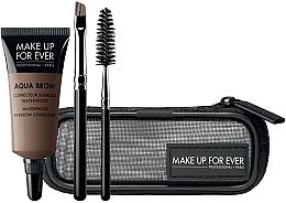 Düfte, Parfümerie und Kosmetik Make Up For Ever Aqua Brow Eyebrow Corrector Kit 15 (Augenbrauenkorrektor 7ml + Bürste 2 St. + Kosmetiktasche) - Augenbrauenset