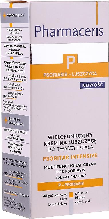 Multifunktionale Körper- und Gesichtscreme gegen Psoriasis - Pharmaceris P Psoritar Inensive