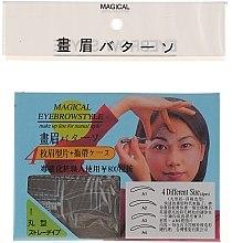 Düfte, Parfümerie und Kosmetik Augenbrauenschablonen Größe A1, A2, A3, A4 - Magical Eyebrow Style