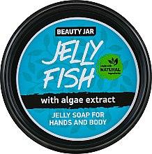 """Düfte, Parfümerie und Kosmetik Gel-Seife """"Jelly Fish"""" für Hände und Körper - Beauty Jar Jelly Soap For Hands And Body"""