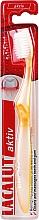 Düfte, Parfümerie und Kosmetik Zahnbürste weich gelb - Lacalut Aktiv