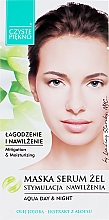 Düfte, Parfümerie und Kosmetik Feuchtigkeitsspendendes Maske-Serum für das Gesicht mit Aloe - Czyste Piekno Face Mask Serum Gel