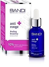 Düfte, Parfümerie und Kosmetik Glättendes Gesichtspeeling mit 10% Lactobionsäure und Gluconolacton gegen Rötungen - Bandi Medical Expert Anti Rouge Acid Peel