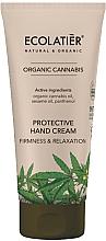 Düfte, Parfümerie und Kosmetik Handschutzcreme - Ecolatier Organic Cannabis Protective Hand Cream