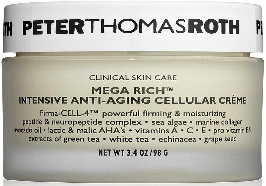Intensive Anti-Aging zelluläre Gesichtscreme - Peter Thomas Roth Mega-Rich Intensive Anti-Aging Cellular Cream — Bild N1