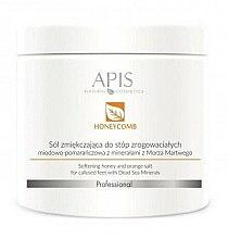 Düfte, Parfümerie und Kosmetik Aufweichende Fußbadesalze - APIS Professional Softening Honey And Orange Salt