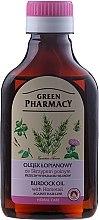 Düfte, Parfümerie und Kosmetik Klettenwurzelnöl mit Schachtelhalm gegen Haarausfall - Green Pharmacy