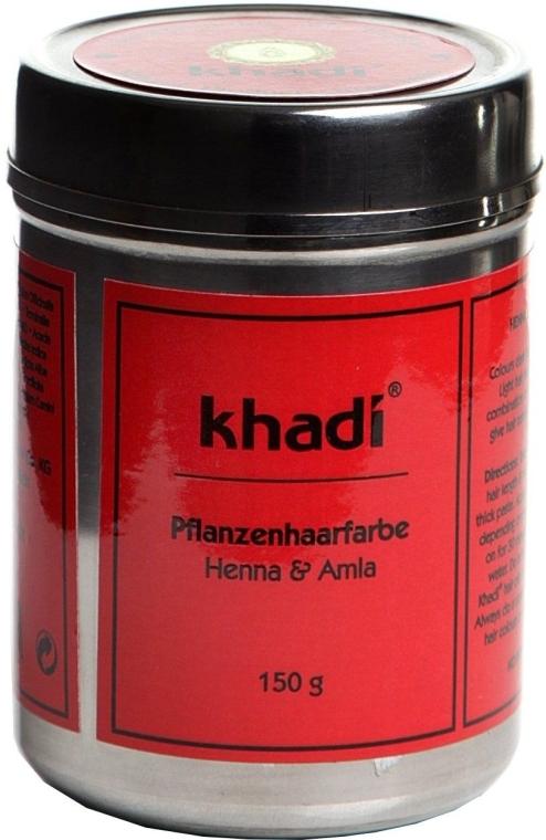 Pflanzenhaarfarbe - Khadi Herbal Hair Colour Henna & Amla — Bild N1