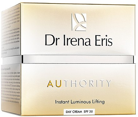 Glättende, aufhellende und verjüngende Gesichtscreme mit Lifting-Effekt SPF 20 - Dr Irena Eris Authority Instant Luminous