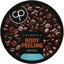 Düfte, Parfümerie und Kosmetik Straffendes und energetisierendes Körperpeeling mit Kaffeeextrakt - Cosmepick Body Peeling Coffee