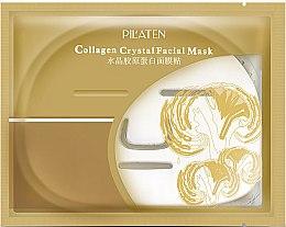 Düfte, Parfümerie und Kosmetik Tuchmaske mit Collagen - Pilaten Collagen Crystal Facial Mask