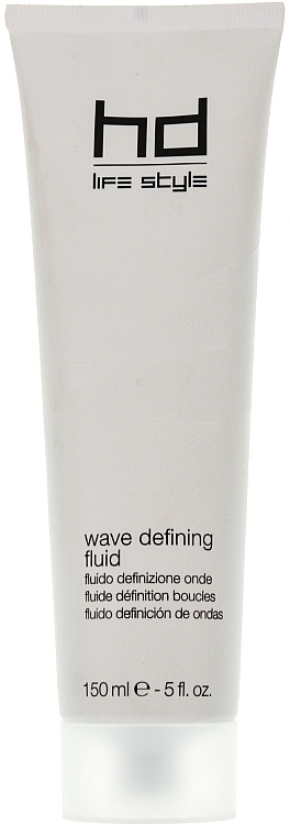 Stylingcreme für lockiges Haar Mittelstarke Verriegelung - Farmavita HD Wave Defining Fluid — Bild N1