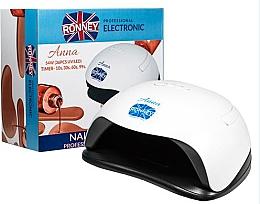 Düfte, Parfümerie und Kosmetik UV/LED Lampe für Nageldesign weiß - Ronney Profesional Anna 54W 36 PCS Lamp
