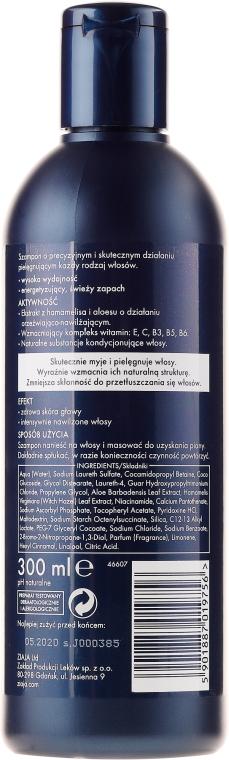 Tiefenreinigendes erfrischendes und feuchtigkeitsspendendes Shampoo für Männer mit Aloe Vera- und Hamamelisextrakt - Ziaja Shampoo for Men — Bild N2