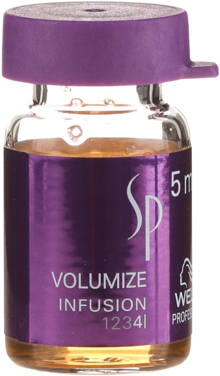 Haarampullen für mehr Volumen - Wella Professionals Volumize Infusion — Bild N2