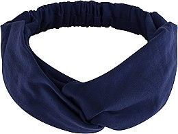 Düfte, Parfümerie und Kosmetik Haarband Knit Twist dunkelblau - MakeUp Hair Accessories