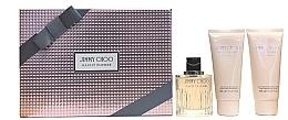 Düfte, Parfümerie und Kosmetik Jimmy Choo Illicit Flower - Duftset (Eau de Toilette 100ml + Körperlotion 100ml + Duschgel 100ml)