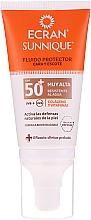 Düfte, Parfümerie und Kosmetik Sonnenschutzfluid für Gesicht und Dekolleté SPF 50+ - Ecran Sun Lemonoil Face And Neck Fluid Spf50