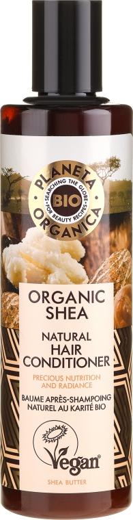 Reichhaltige Haarspülung mit Bio Sheabutter - Planeta Organica Organic Shea Natural Hair Conditioner