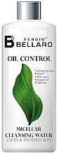 Düfte, Parfümerie und Kosmetik Mizellenwasser für fettige Haut mit Granatapfel und Grapefruit - Fergio Bellaro Oil Control Micellar Cleansing Water