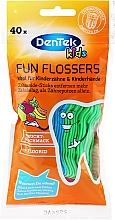 Düfte, Parfümerie und Kosmetik Zahnstocher ideal für Kinderzähne mit Fruchtgeschmack - DenTek Kids Fruit Fun Flossers