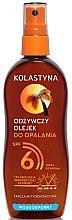 Düfte, Parfümerie und Kosmetik Wasserdichtes Bräunungsöl SPF 6 - Kolastyna SPF6