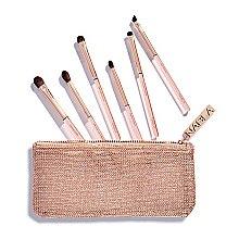 Düfte, Parfümerie und Kosmetik Make-up Pinselset in Kosmetiktasche - Nabla Denude Eye Brush Set
