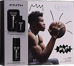 Düfte, Parfümerie und Kosmetik STR8 Faith - Duftset (Eau de Toilette 50ml + Deospray 150ml)