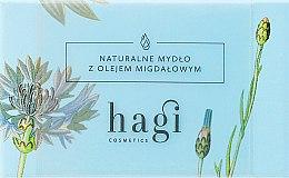 Düfte, Parfümerie und Kosmetik Naturseife mit Mandelöl und Scheabutter - Hagi Soap
