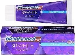 Düfte, Parfümerie und Kosmetik Zahnpasta - Blend-a-med 3d White Healthy Shine Toothpaste