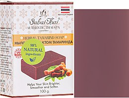 Düfte, Parfümerie und Kosmetik Seife mit Tamarindenextrakt - Sabai Thai Herbal Tamrind Soap