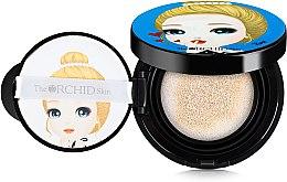 Düfte, Parfümerie und Kosmetik Cushion mit Schminkschwamm - The Orchid Skin Flower Smart Cushion Water Drop SPF50+/PA+++