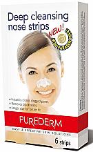 Düfte, Parfümerie und Kosmetik Nasenporenstreifen gegen Mitesser - Purederm Deep Cleansing Nose Pore Strips