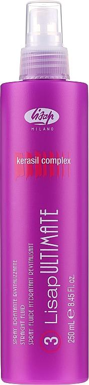 Glättendes Haarfluid - Lisap Milano Lisap Ultimate 3 Straight Fluid Spray