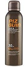 Düfte, Parfümerie und Kosmetik Sonnenschutzspray für schnelle Bräune SPF 30 - Piz Buin Tan&Protect Tan Intensifying Sun Spray SPF 30