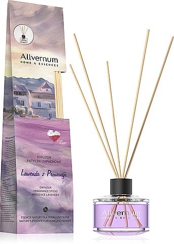 Raumerfrischer Provence Lavender - Allvernum Home & Essences Diffuser Fragrance Sticks
