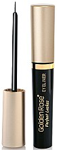 Düfte, Parfümerie und Kosmetik Eyeliner - Golden Rose Perfect Lashes Black EyeLiner