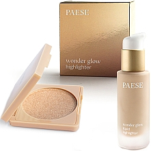Düfte, Parfümerie und Kosmetik Make-up Set - Paese Wonder Glow Highlighter (Gesichts-Highlighter 7,5g + Flüssiger Highlighter 20ml)