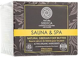 Düfte, Parfümerie und Kosmetik Natürliche nährende Fußbutter - Natura Siberica Foot Butter
