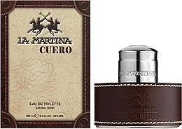 La Martina Cuero - Eau de Toilette — Bild N2
