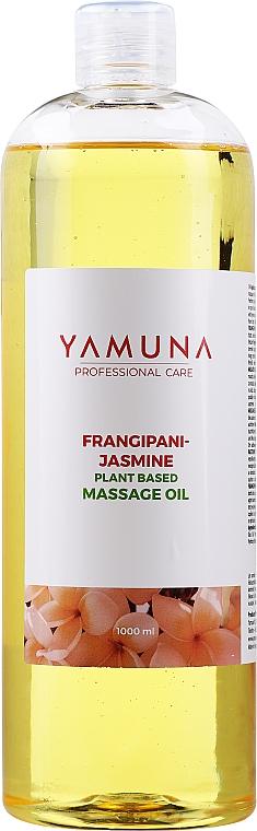Olejek do masażu Plumeria i jaśmin - Yamuna Frangipani-Jasmine Plant Based Massage Oil