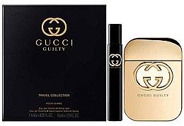 Düfte, Parfümerie und Kosmetik Gucci Guilty - Duftset (Eau de Toilette 75ml + Eau de Toilette 7.4ml)