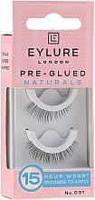 Düfte, Parfümerie und Kosmetik Künstliche Wimpern №031 - Eylure Pre-Glued Naturals