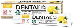 Düfte, Parfümerie und Kosmetik Aufhellende Zahnpasta mit Zitroneextrakt - Dental Bio Vital Natural White Toothpaste