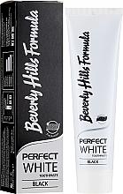 Düfte, Parfümerie und Kosmetik Zahnpasta - Beverly Hills Perfect White Black