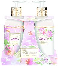 Düfte, Parfümerie und Kosmetik Körperpflegeset - Baylis & Harding Royal Bouquet Rose & Honeysuckle (Hand- und Körperlotion 300ml + Flüssige Handseife 300ml)