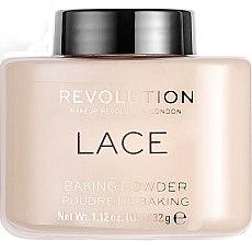 Düfte, Parfümerie und Kosmetik Gebackener Gesichtspuder - Makeup Revolution Lace Luxury Baking Powder