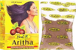 Düfte, Parfümerie und Kosmetik Reinigungspuder mit natürlichen Kräutern für fettiges Haar - Hesh Aritha Powder Shampoo