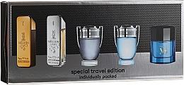 Düfte, Parfümerie und Kosmetik Paco Rabanne Mini Set For Men - Duftset (Eau de Toilette 5 x 5ml)